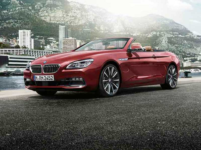 Serie 6 Cabrio BMW Premium Selection